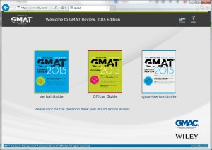 GMAT Official Guides online access